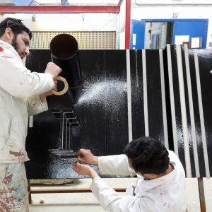 Industrieel schilderen